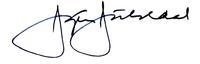 Jørgen Juhldal underskrift